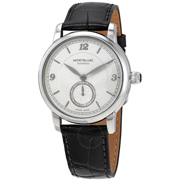 [추가비용없음] MONTBLANC 118510 Star Legacy Automatic Silvery White Dial Ladies Watch