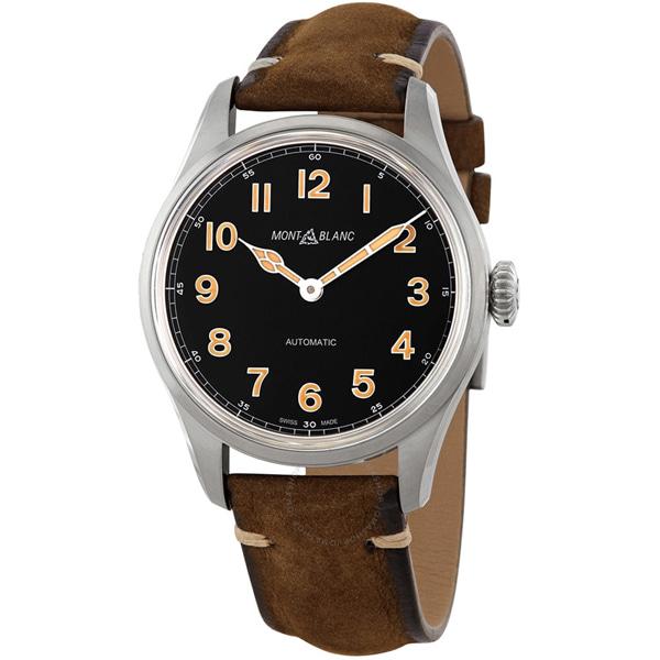 [추가비용없음] MONTBLANC 119907 1858 Collection Automatic Black Dial Mens Watch