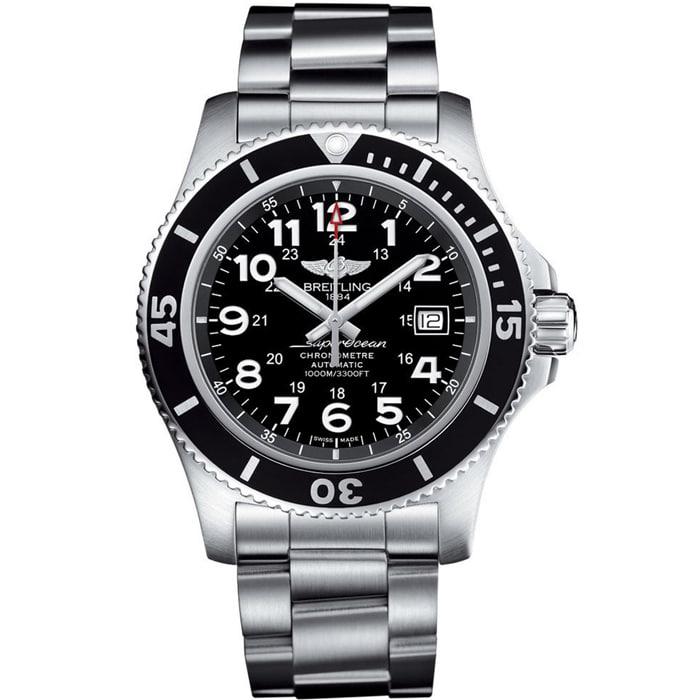 [추가비용없음] 브라이틀링 SUPER OCEAN AUTOMATIC 44 A17365C91B1A1