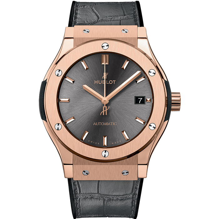 [추가비용없음] 위블로 HUBLOT Classic Fusion 511.OX.7081.LR RACING GREY KING GOLD 45mm