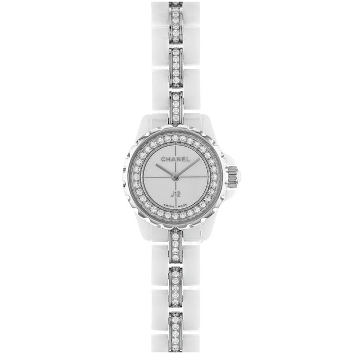 [추가비용없음] 샤넬 CHANEL H5238 Discover J12 ;XS Watch White highly-resistant ceramic and stee