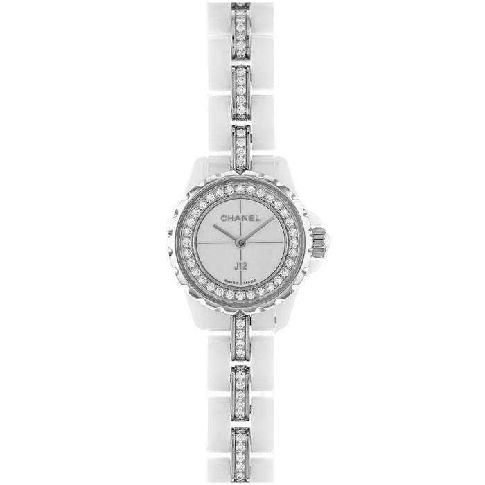 [추가비용없음] 샤넬 Chanel H5238 Discover J12 ;XS Watch White highly-resistant ceramic and stee