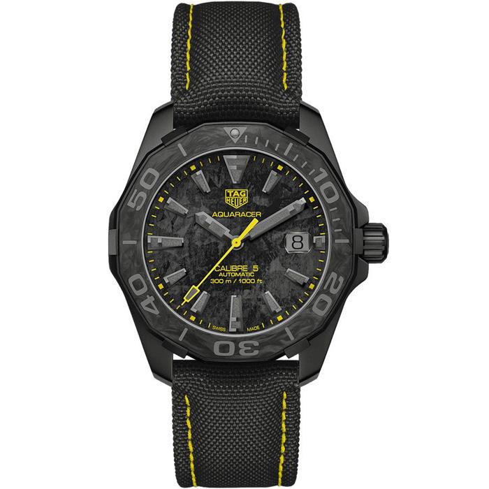[추가비용없음] 태그호이어 TAG Heuer WBD218B.FC6446 TAG Heuer - Watchonista Aquaracer Calibre 5 Carbon Special Edition