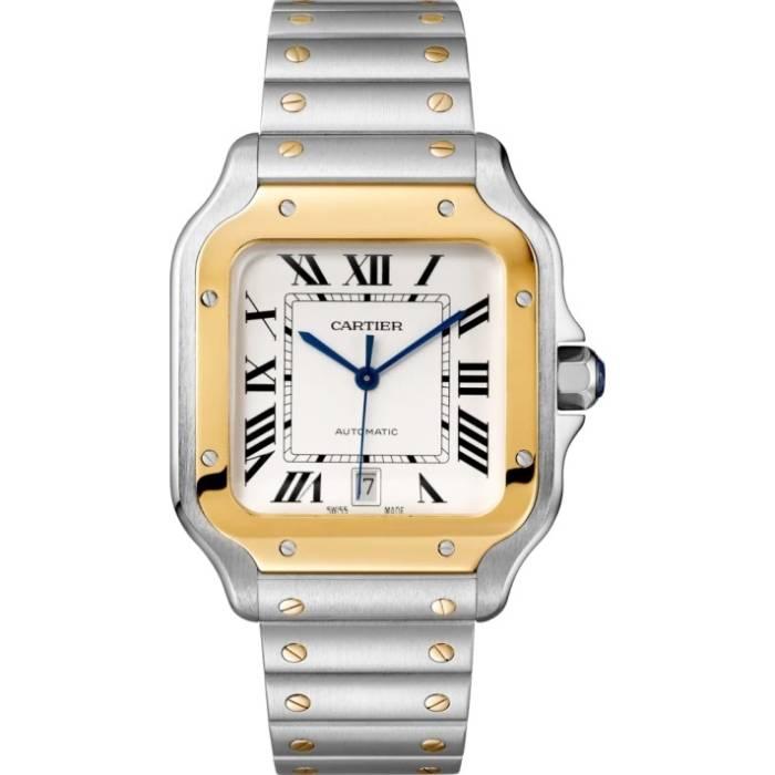 [추가비용없음] 까르띠에 시계 W2SA0009 Cartier SANTOS DE CARTIER 남성
