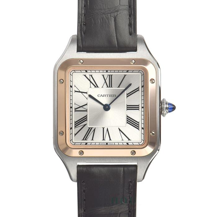 [추가비용없음] 까르띠에 Cartier W2SA0011 Cartier Santos Dumont Large 43.5mm