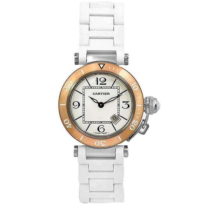 [추가비용없음] 까르띠에 Cartier W3140001 PASHA SEA-TIMER