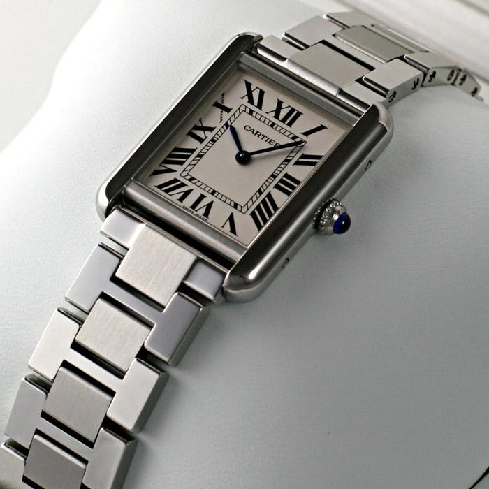 [추가비용없음] 까르띠에 Cartier TANK SOLO W5200013 여성 까르띠에