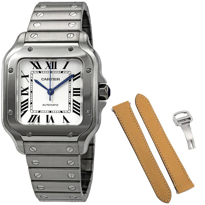 [추가비용없음] 까르띠에 Cartier WSSA0010 Santos De Cartier