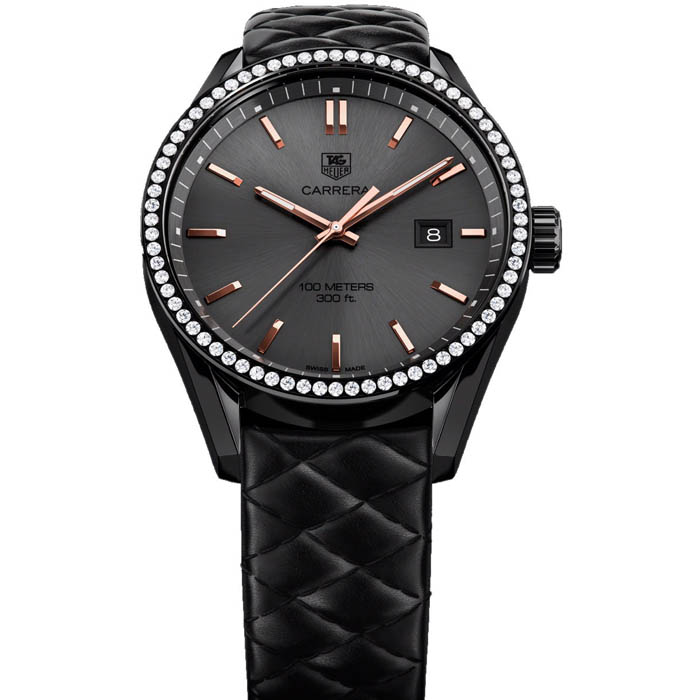 [추가비용없음] 태그호이어 TAG Heuer WAR101B.FC6367 Carrera Cara Delevinge Quilted 41mm