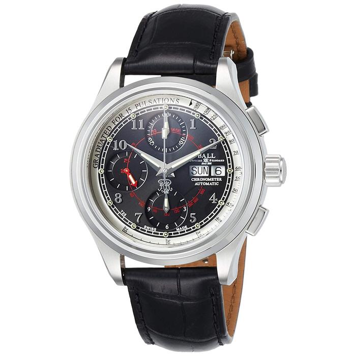 BALL Watch  볼워치 펄스 COSC 크로노 자동/트리튬/마이크로 가스 라이트 CM1010D-LCFJ-BK