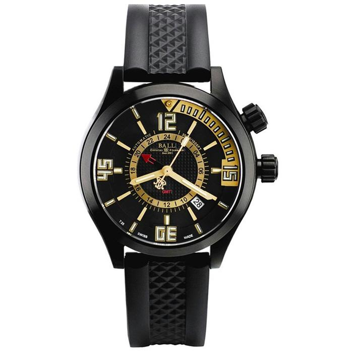 BALL Watch  볼워치 엔지니어 마스터 2 다이버 GMT 자동 태엽 시계 DG1020A-PAJ-BKGO