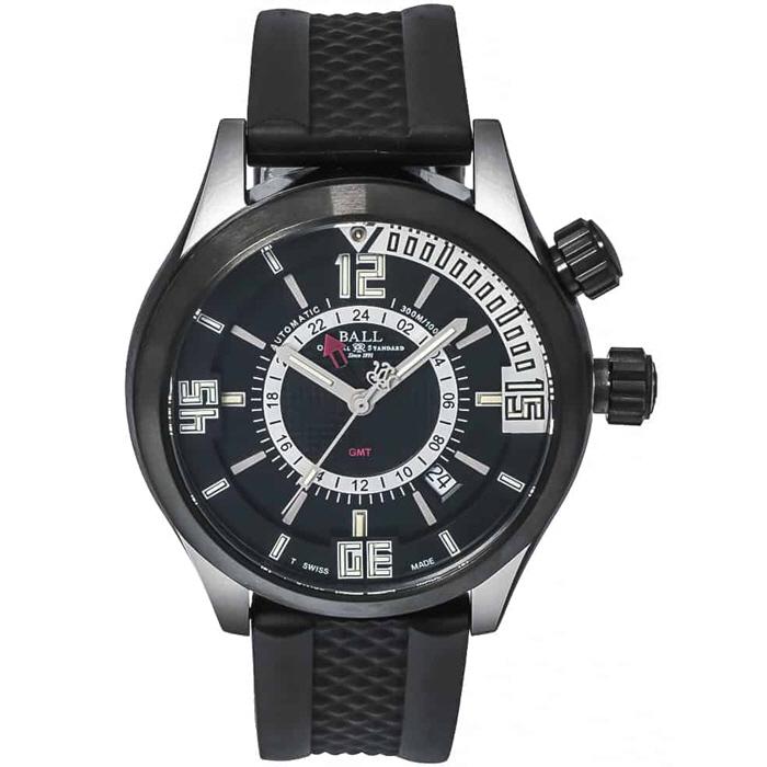 BALL Watch  볼워치 엔지니어 마스터 2 다이버 GMT 오토매틱 시계 DG1020A-PAJ-BKSL