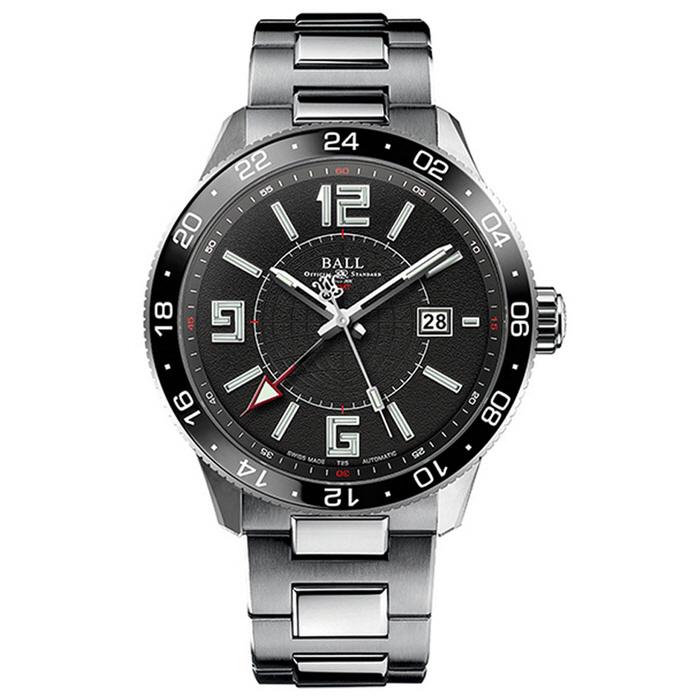 BALL Watch  볼워치 엔지니어 마스터 II 파일럿 GMT 남성 GM3090C-SAJ-BK