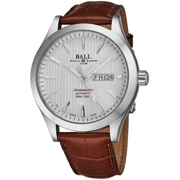 BALL Watch  볼워치 RED Label 크로노 자동 태엽 시계 NM2028C-LCJ-WH