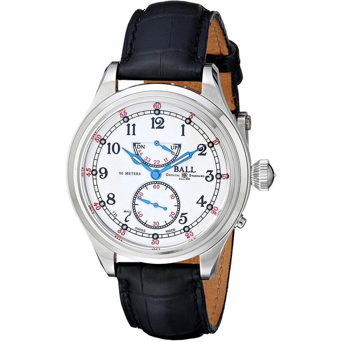 [추가비용없음] BALL Watch  볼워치 스위스 제 Trainmaster 21st Century NM2058D-LJ-WH