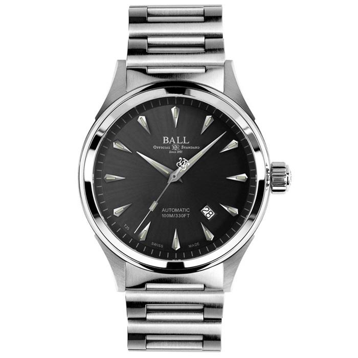 [추가비용없음] BALL Watch  볼워치 파이어 맨 레이서 클래식 남성 NM2288C-SJ-GY