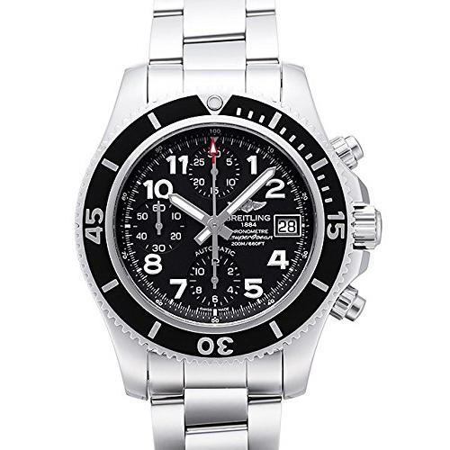 [추가비용없음] 브라이틀링 BREITLING 손목시계 슈퍼 오션 크로노그래프 42 맨즈 A108B93PSS8