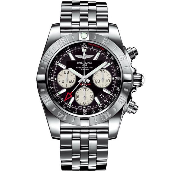 [추가비용없음] 브라이틀링 BREITLING Chronomat 44 GMT A042B56PA