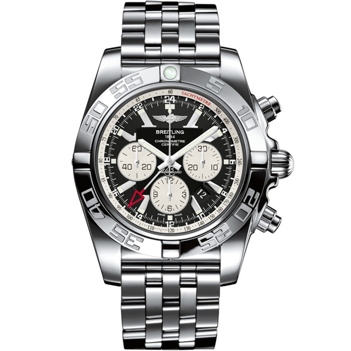 [추가비용없음] 브라이틀링 BREITLING Chronomat GMT AB041012/BA69