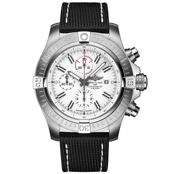 BREITLING A133751A1A1X2 Super Avenger Chronograph 48 Mens Watch