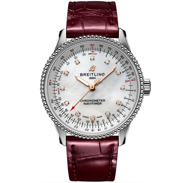 BREITLING A17395211A1P1 Navitimer Automatic 35 Ladies Watch