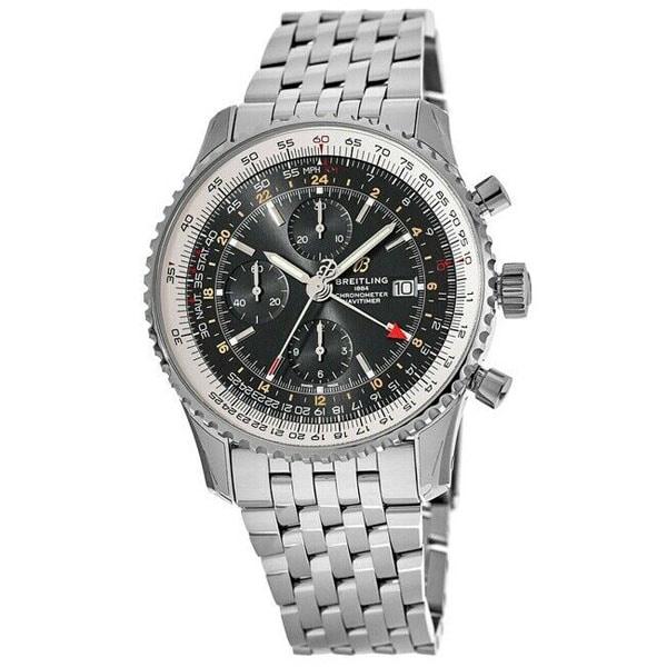 BREITLING A24322121B2A1 Navitimer 1 Chronograph GMT 46 Mens Watch