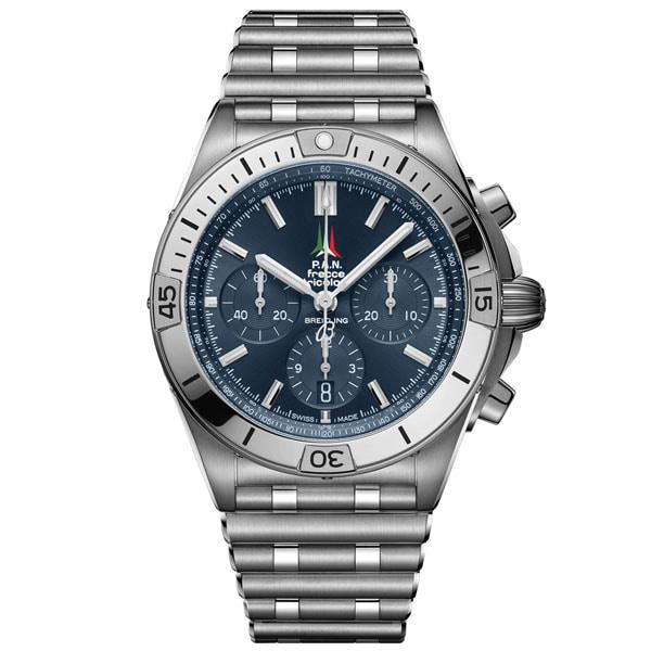 BREITLING AB01344A1C1A1 Chronomat B01 42 Frecce Tricolori Limited Edition Watch
