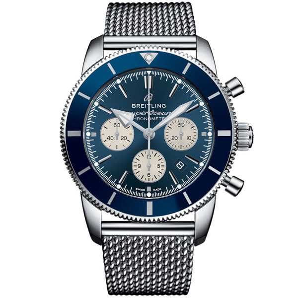 BREITLING AB0162161C1A1 Superocean Heritage Chronograph 44 Mens Watch