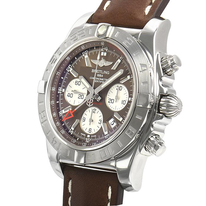 [추가비용없음] 브라이틀링 BREITLING Chronomat 44 GMT AB042011/Q589 브라운