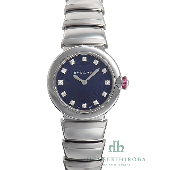 [추가비용없음] 불가리 BVLGARI LU28C3SS/12 Lucea Quartz 28mm Ladies Watch