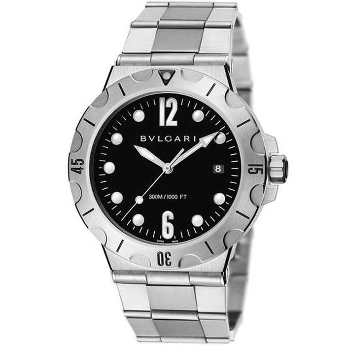 [추가비용없음] 불가리 BVLGARI DIAGONO PRO DP41BSSSD 41mm Bulgari Diagono Scuba