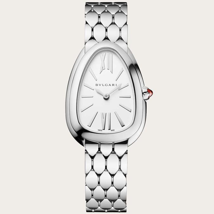[추가비용없음] 불가리 BVLGARI SP33WSS Serpenti Seduttori Woman's Watch in Steel 103141 2019SS