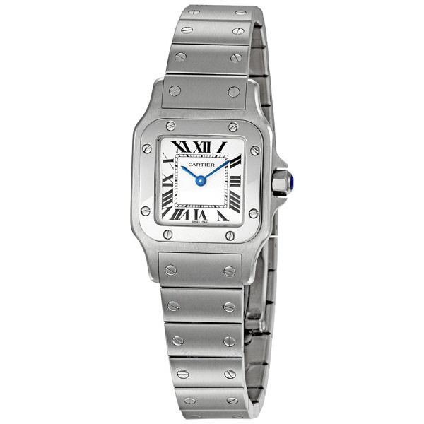 [추가비용없음] 까르띠에 Cartier W20056D6 Santos Stainless Steel Casual Watch