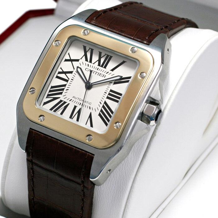 [추가비용없음] 까르띠에 Cartier W20072X7 Santos De 산토스