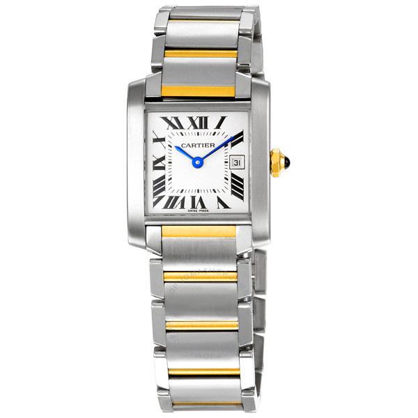 [추가비용없음] 까르띠에 Cartier W51012Q4 Cartier TANK-FRANCAISE