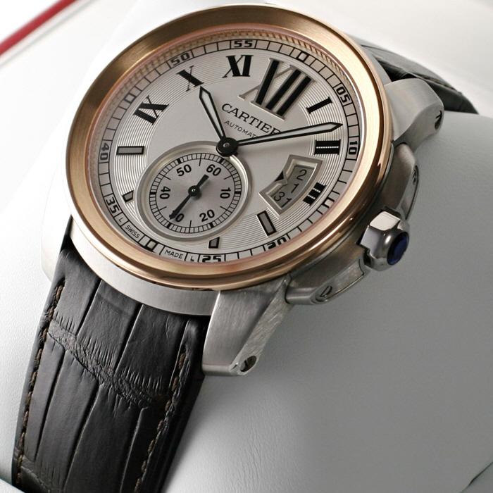 [추가비용없음] 까르띠에 Cartier W7100039 Calibre De 칼리브
