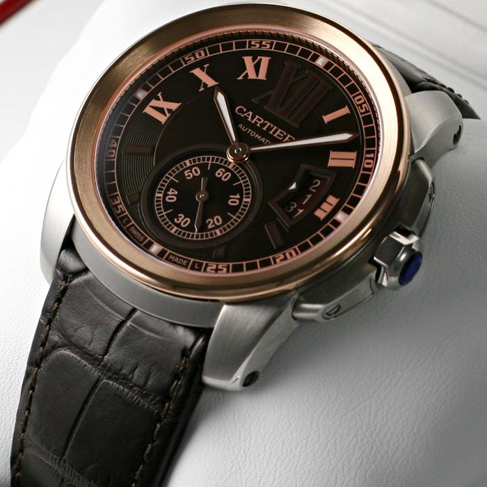 [추가비용없음] 까르띠에 Cartier W7100051 Calibre De 칼리브
