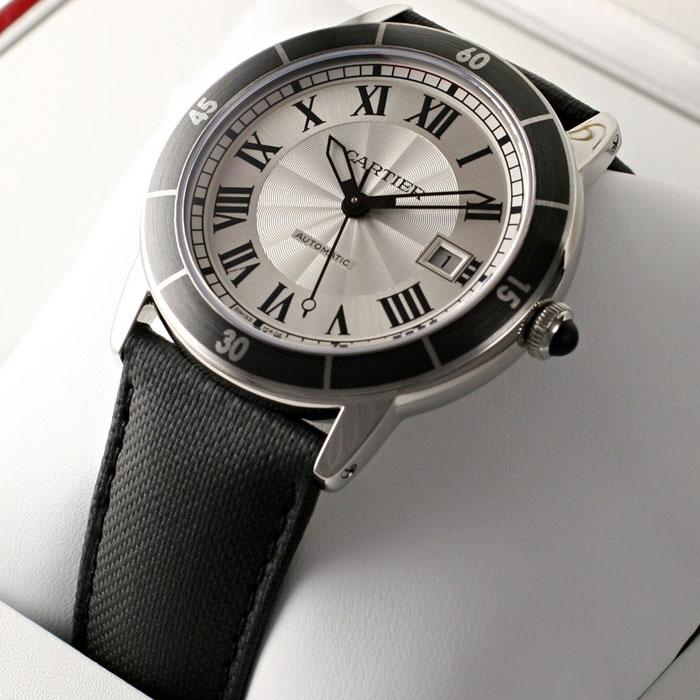 [추가비용없음] 까르띠에 Cartier WSRN0002 오토메틱 42mm RONDE CROISIERE 까르띠에