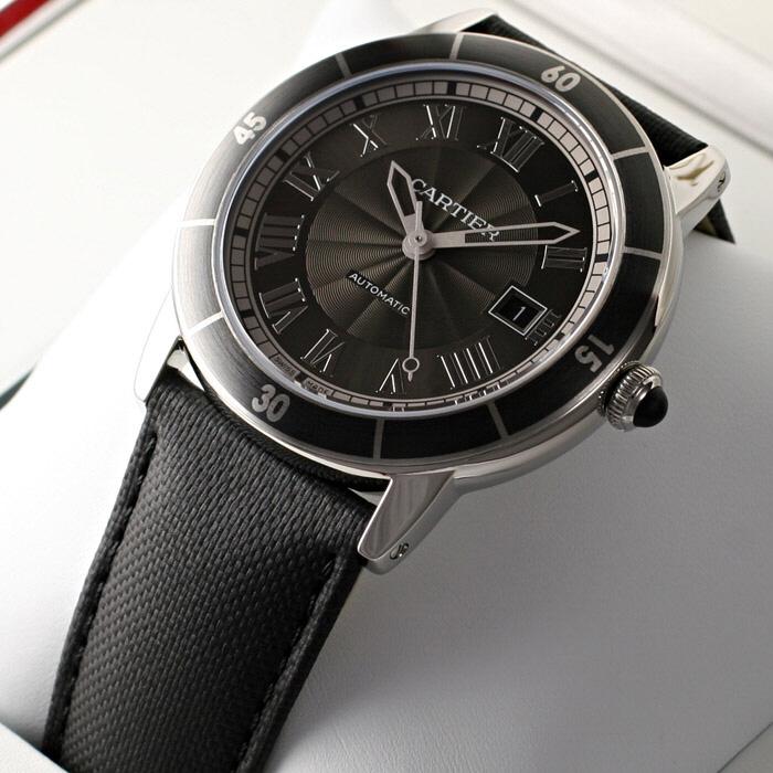 [추가비용없음] 까르띠에 Cartier WSRN0003 Cartier Ronde Croisiere Automatic