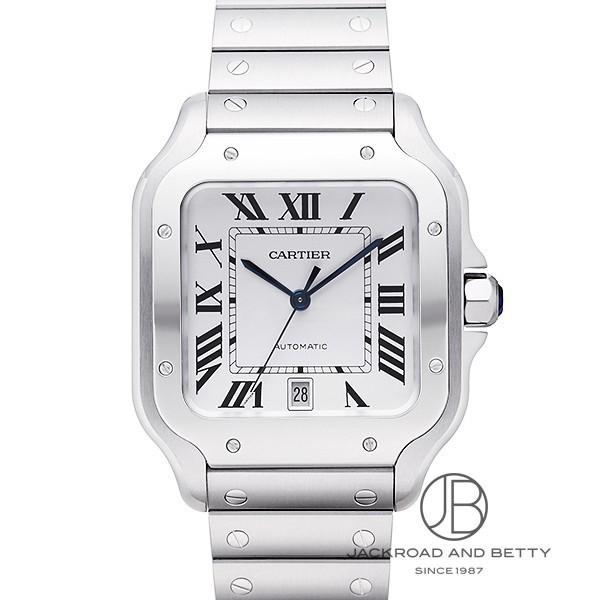 [추가비용없음] 중고 까르띠에 Cartier Santos De Cartier LM WSSA0009