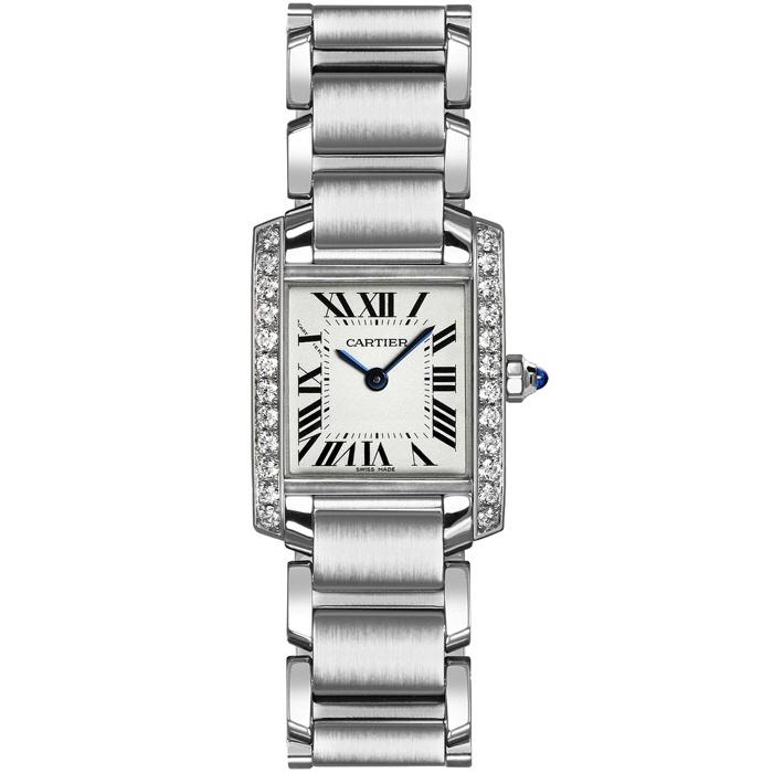[추가비용없음] 까르띠에 Cartier Tank Francaise W4TA0008 여성