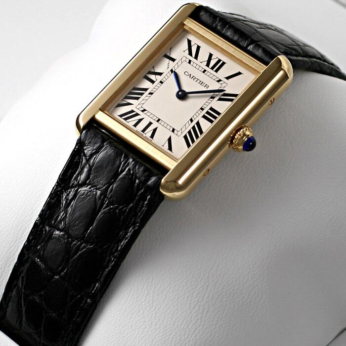 [추가비용없음] 까르띠에 Cartier W5200002 TANK SOLO 여성