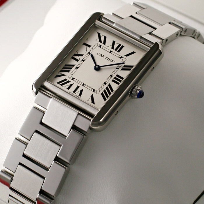 [추가비용없음] 까르띠에 Cartier 남여공용 QUARTZ W5200014