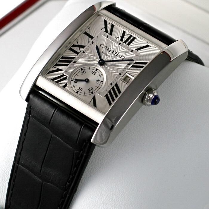 [추가비용없음] 까르띠에 Cartier W5330003 TANK MC 남성