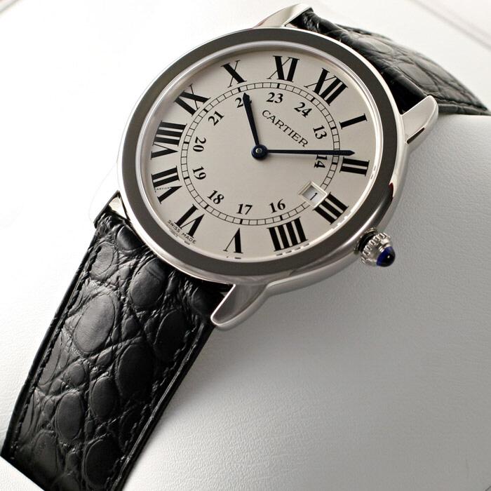 [추가비용없음] 까르띠에 Cartier W6700255 RONDE SOLO