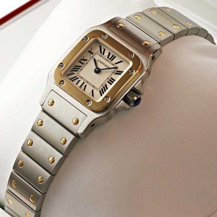[추가비용없음] 까르띠에 Cartier W20012C4 까르띠에 Cartier SANTOS GALBEE