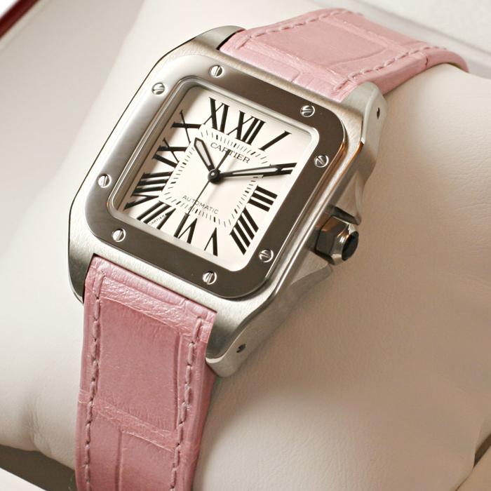 [추가비용없음] 까르띠에 Cartier W20126X8 Cartier Santos 100 여성