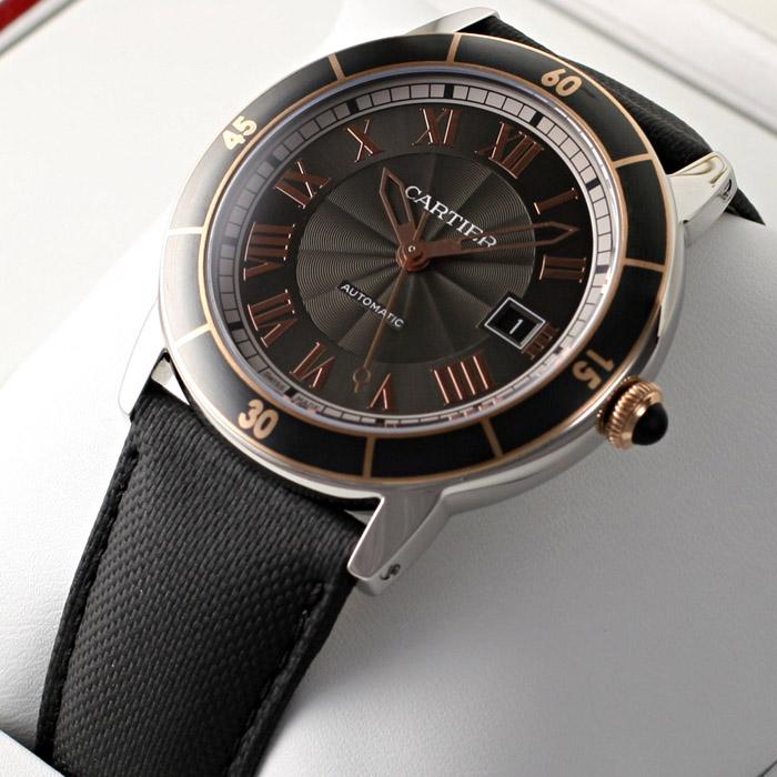 [추가비용없음] 까르띠에 Cartier W2RN0005 RONDE CROISIERE 까르띠에