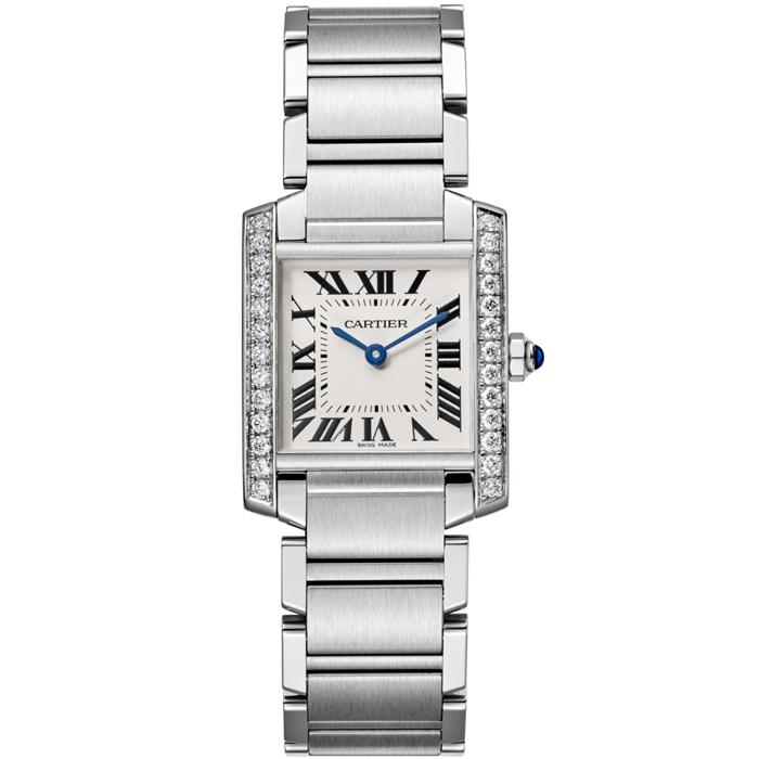 [추가비용없음] 까르띠에 Cartier W4TA0009 Cartier Tank Francaise Medium Midsize Watch