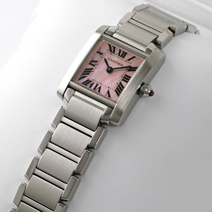 [추가비용없음] 까르띠에 Cartier Tank Francaise W51028Q3